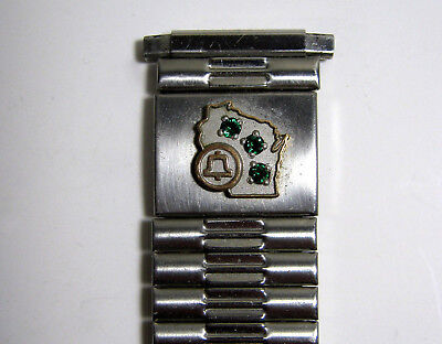 Men'S Interesting Old Att Watchband - Wisconsin Bell, Wisconsin Telephone Compan