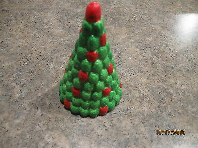 "VINTAGE Roman Inc 4""  Christmas Tree Candy Village 1984"