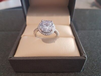 Stunning New 4ct Engagement Ring