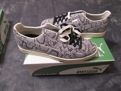 8131dccbcede NIB PUMA CLYDE Snake Silver Sneakers Shoes Size 13 Brand New In Box ...