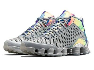 new style fcd87 e8d91 Mens 10 NIKE Shox TLX Mid SP Dusty Grey reflect silver chrome Shoes 677737-
