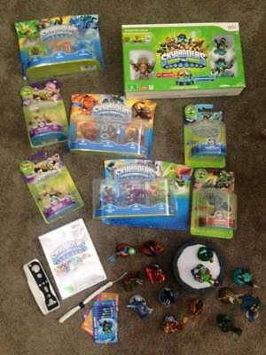 SKYLANDERS - Huge collection of NEW Wii figurines and game