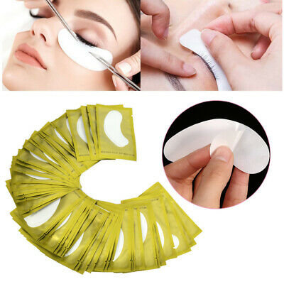 200 Pairs LINT FREE Under Eye Gel Pads Patch Eye Mask Tool For Eyelash Extension
