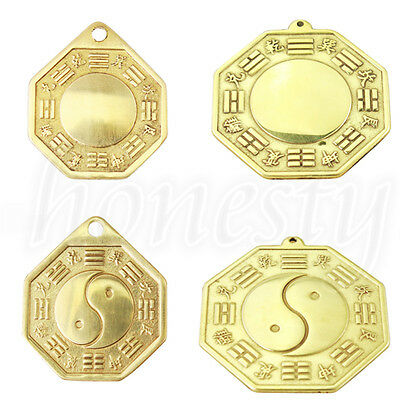 Vintage Chinese Tai Ji Bagua Mirror Home Garden Car Hanging Decoration 2 Style
