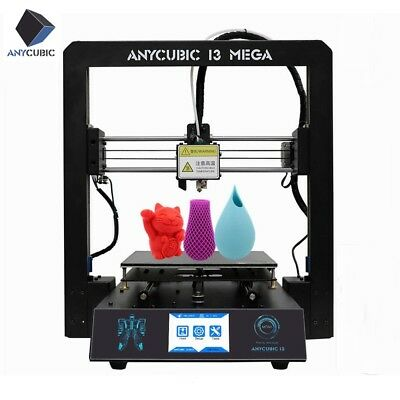 Anycubic I3 Mega 3D Printer All-Metal Ultrabase Industrial Grade TFT PLA/ABS DE