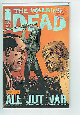 Walking Dead #120 Near Mint /NM+ Condition
