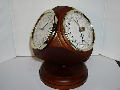Barometer Clock Thermometer Hygrometer Fishing Weather Station