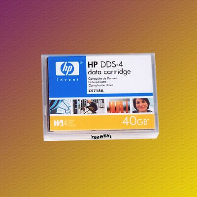 HP DDS 4, C5718A, 20/40 GB, Data Cartridge, Datenkassette, NEU & OVP