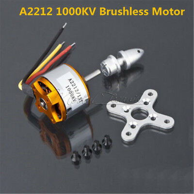 Brushless A2212 1000Kv Drone Outrunner Motor For Aircraft Helicopter Quadcopter