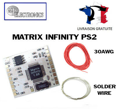 Matrix Infinity Chip Playstation 2 PS2 PSX2 USB Booter
