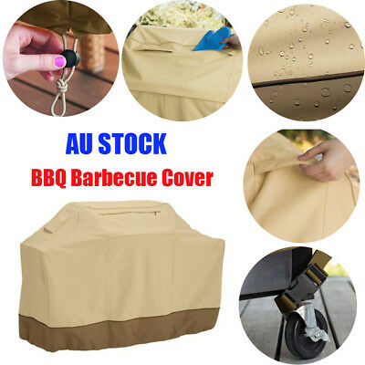 BBQ Grill Cover 6 Burner Waterproof Outdoor UV Gas Charcoal Barbecue Protector