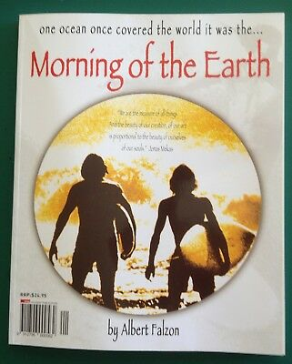 Morning of the Earth book  210 pages of joy Autographed by Falzon