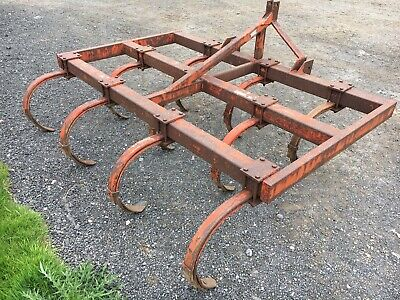 3 Meter Cultivator, Harrow, Good Working Order, Cover Crops, Stubble, Turnips