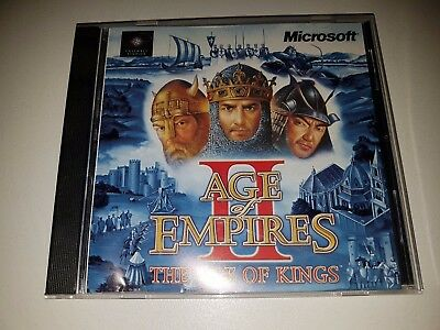 AGE OF EMPIRES II - THE RISE OF KINGS PC Game