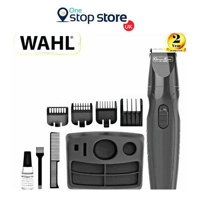 Wahl GroomEase Rechargeable Stubble & Beard Trimmer 9 Piece Kit New 9685-517