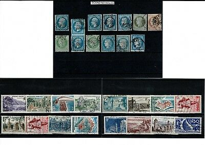 #789 MORE France from early Ceres & Napoleon mostly unsorted cards x22