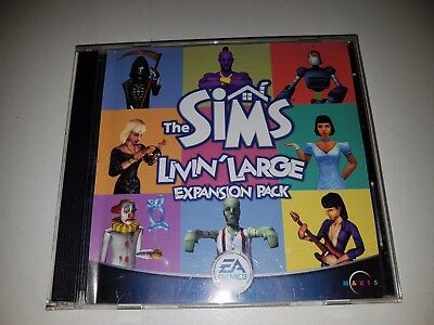 SIMS - LIVIN LARGE EXPANSION PACK PC CD ROM Game