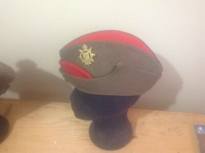Private purchase officers wedge cap