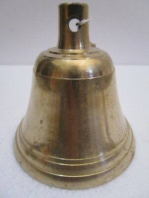 BRASS Bell - Marine / Religion / Spiritual - FREE SHIPPING (1778)