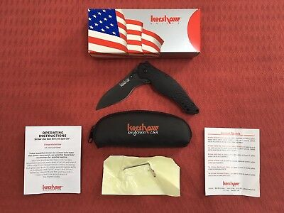 Kershaw Spec Bump 1596 Knife - New in Box with all paperwork and pouch