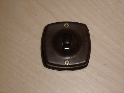 Vintage Bakerlite Light Switch