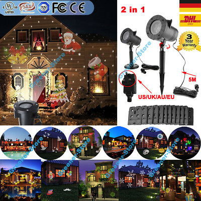 12 muster led laser licht projektor xmas wasserdicht halloween gartenlicht eur 26 99 picclick de. Black Bedroom Furniture Sets. Home Design Ideas