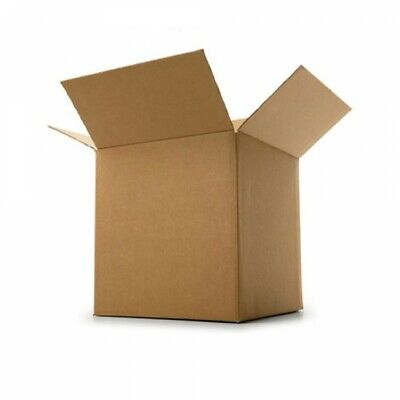 Cardboard Box Postage Postal Packaging Single Wall Small Parcel Post 6 x 6 x 6""
