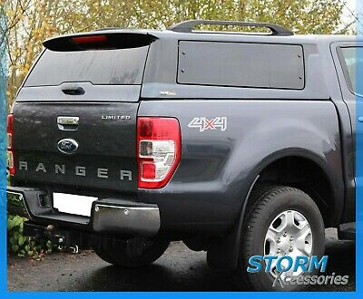 Ford Ranger T6 Double Cab 2012 On Ridgeback Platinum Hardtop- Panther Black 17V
