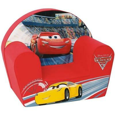 CARS Fauteuil pour enfant - 1 place - Cars 3 Flash Mc Queen - Rouge DISNEY