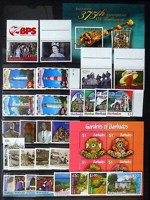 BARBADOS 2012/16 - 7 Sets & 2 M/Sheets U/M NC129