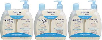 Aveeno Baby Daily Care Set, 1 Count ( 3 Pack)