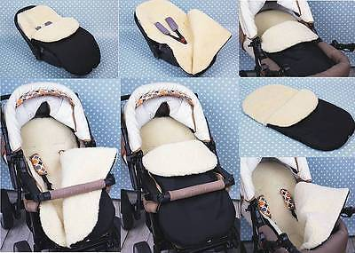 Universal Footmuff fits for BUGABOO All Models. Cosytoes for baby. Wool.