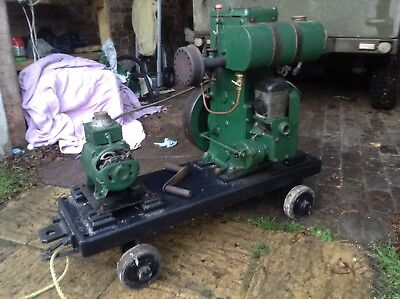 Lister D Stationary Engine