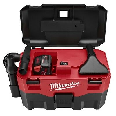 Milwaukee Electric Tools 0880-20 18V Wet/Dry Vac Vacuum Cleaner Black/Red NEW