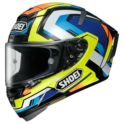 Shoei X-Spirit 3 Brink TC10  Helmet Casque Helm Casco ECE2205