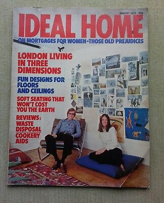 Ideal Home magazine Vintage edition August 1973