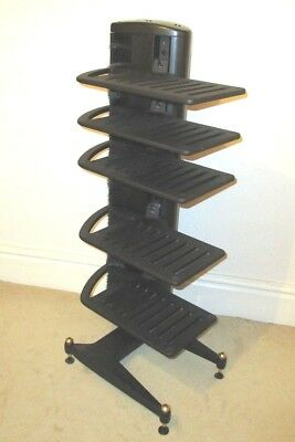 Cyrus Hark Five Shelf Hi-Fi Rack / Stand With Hark Base In Very Good Condition