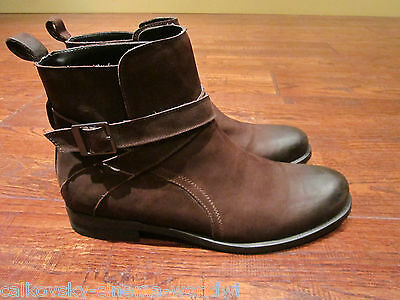 e2fdbdb78b9 Men's Shoes Kenneth Cole Reaction Hit Men Distressed Leather Boots Brown  size 11