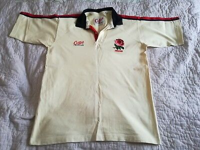 1992 1994 Cotton Traders Men's England Home Rugby Union Shirt Jersey New Large