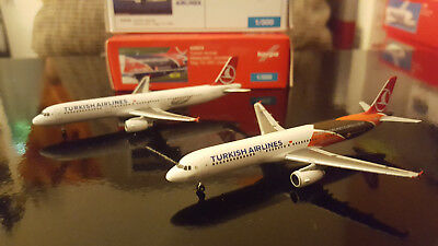 Herpa Wings 1:500 | Turkish Airlines Set | 2x A321-200