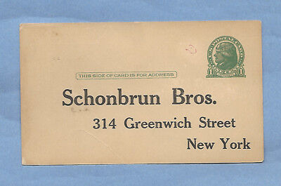 Vintage Eggs Postcard Tag Schonbrun Bros Eggs New York New York New Old Sstock