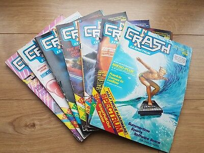 crash magazines spectrum x 7