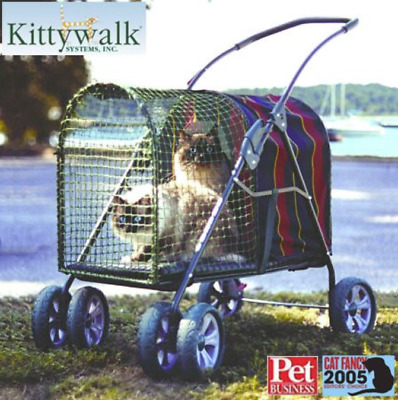 Kittywalk Original SUV Pet Cats & Dogs Stroller Carrier Crate Last one