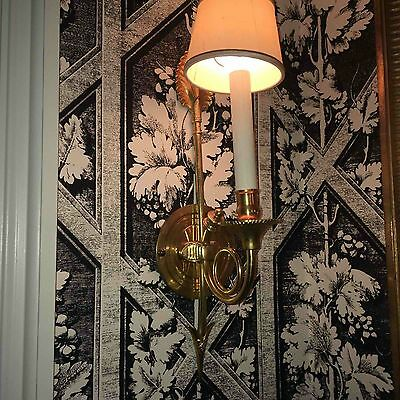Bronze Gold  Plated Wall Sconces Vintage Antique Lights French Directoire Style