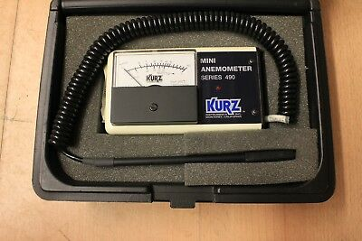Kurz Instruments Inc. Mini Anemometer Serie 490 Windmessgerät Windmesser