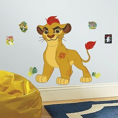 The Lion Guard Kion Peel and Stick Giant Wall Decals Kid's Room Decoration NEW!