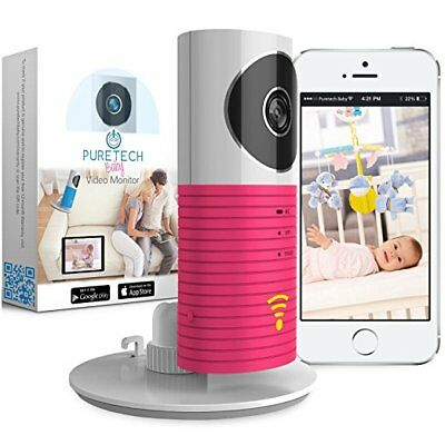 Video Baby Monitor Camera Compatible With iPhone & Android. Wifi Enabled Nanny C