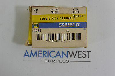 Square D 9070 AP-3 Series A Fuse Block Assembly