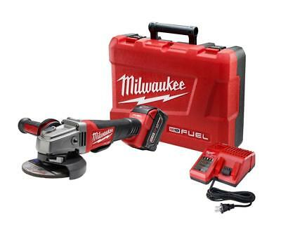 MILWAUKEE-2780-21 M18™ FUEL™ 4-1/2 In. / 5 In. Grinder, Paddle Switch No