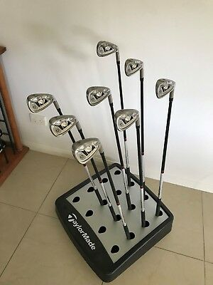 Taylormade Tour Cavity Golf Irons 3 4 5 7 8 9 Pw Sw Only R Flex Burner Graphite